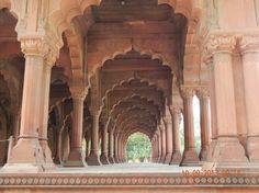 inside Red Fort Delhi India