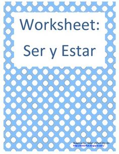 Worksheets On 3d Shapes Excel Descriptionthis Worksheet Allows Students To Practice The Use Of  4th Grade Comprehension Worksheets Excel with Informational Text Comprehension Worksheet Worksheet Is Two Pages And Includes  Conjugating Ser And Estar A Fill In Math Worksheets For Adults Excel