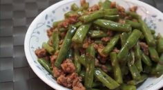 DIY 港式佳肴 (8) 四季豆炒肉碎  http://easydiy365.com/?p=33093