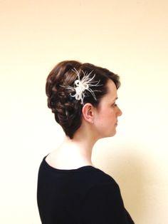Hochzeitsfrisur für kurzes Haar