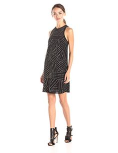 Trina Turk Women's Galina Embellished Sleeveless Dress - http://darrenblogs.com/2015/12/trina-turk-womens-galina-embellished-sleeveless-dress/
