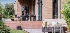 Billeder af Funkis huse - Se de mange muligheder i Funkis husene Patio, Outdoor Decor, Inspiration, Home Decor, Biblical Inspiration, Terrace, Interior Design, Home Interior Design, Home Decoration