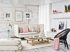 salon-rustico-pared-listones-madera