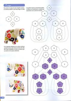 How To Crochet African Flower Pentagon [Free Crochet Pattern and Video Tutorials] African Flower Mofif for Amigurumi, Crochet Toys and Animals Here's an idea for your African flowers Carol! This is my very first project I am posting here. Hi Ho portachia Crochet Motifs, Crochet Toys Patterns, Crochet Squares, Amigurumi Patterns, Crochet Crafts, Crochet Dolls, Crochet Projects, Granny Squares, African Flower Crochet Animals