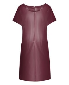 """Simply Be"" Simply Be Pu Shift Dress at Simply Be"