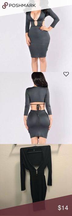 Black Dress Fashion nova dupe Size Small NWOT Other