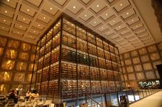 Beinecke Rare Book & Manuscript Library at Yale: | The 30 Best Places To Be If You Love Books