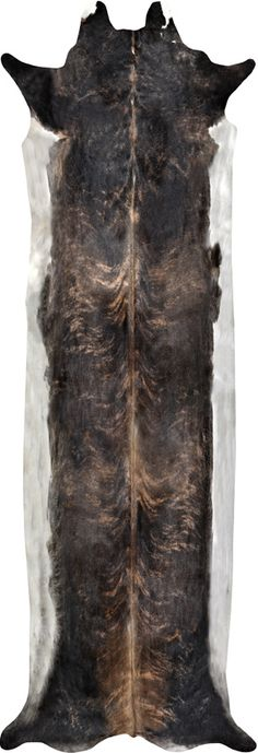 Super Long Stretched Cowhide Rug - British Design From 650 euro. Up to 3.80m long