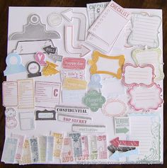 Amy's Art From the Heart blog.  These are some accessory ideas for a smashbook.  I want to do a smashbook this summer.