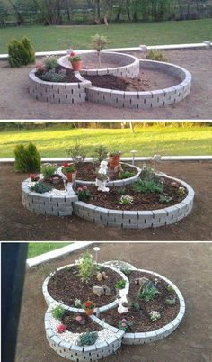 raised garden beds diy diy raised garden small vegetable gardens vegetable garden diy vegetable garden design raised garden building raised garden beds has many rewards to it its the kind o raisedgarden bedsdiy Garden Yard Ideas, Garden Projects, Diy Projects, Backyard Ideas, Garden Pond, Brick Garden, Garden Ideas With Bricks, Patio Ideas, Dog Backyard