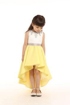 DORIAN HO Baby Doll SS 2017 Little Girl Outfits, Cute Outfits For Kids, Cute Fashion, Girl Fashion, Cute Dresses, Girls Dresses, Girls Party Wear, Kids Ethnic Wear, Kids Dress Patterns