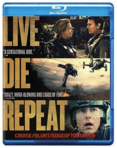 $3.99 - Live Die Repeat Edge of Tomorrow Blu-ray