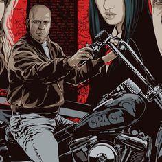 Bruce Willis from Pulp Fiction [Art by Mondo] #TarantinoXX