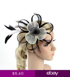 30c27af6101 Vintage Net Feather Headband Fascinator Wedding Party Race Royal Ascot
