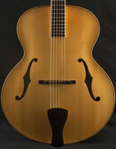 Eastman AR910 Blonde Archtop Guitar