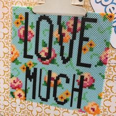 Love Much perler beads by craftychica