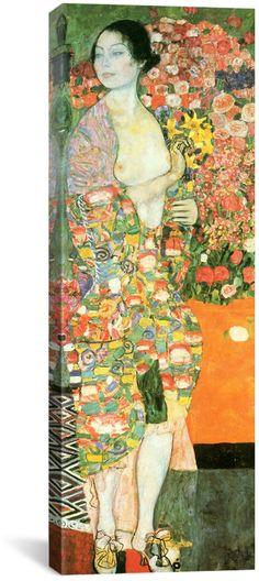 icanvasart The Dancer By Gustav Klimt