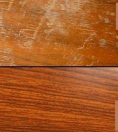 Škrábance a rýhy nejen na dřevu odstraníte snadno za pomoci domácích metod Good Housekeeping, Cross Stitch Flowers, Butcher Block Cutting Board, Good To Know, Cleaning Hacks, Helpful Hints, Diy And Crafts, Household, Woodworking