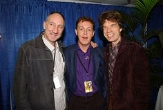 Pete Townshend Paul McCartney Mick Jagger The Concert for New York City at Rehearsals