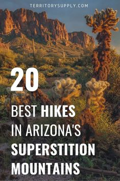 As the closest wilderness area to Phoenix, the Superstition Mountains are a top-flight Arizona hiking location. Here's the 20 best hikes in the Superstition Wilderness. Hiking In Texas, Colorado Hiking, Arizona Road Trip, Arizona Travel, Hiking Spots, Hiking Tips, Hiking Gear, West Coast Trail, Hiking Essentials
