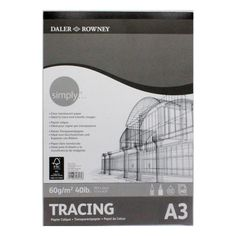 Contains 40 sheets of 60 gsm acid free clear translucent paper. Ideal for tracing and transferring images. Paper Manufacturers, A3, Canvas, Image, Tela, Canvases