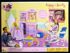 Happy Family Nursery Playset, 2002