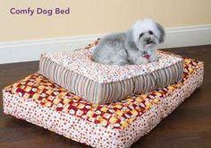 How to Sew a Comfy Dog Bed - Free Comfy Dog Bed Sewing Pattern