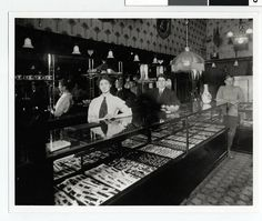 Israel and Lena Bright owned this Duluth store: daughter Sarah and son Harris are behind the counter.    Date: 1910  Source: 24 cm x 20.5 cm  Format: Black and white photo  Subject: Business and industry; Duluth--Homes and Businesses; Jewelry stores; Jewi Tips on how to (start your own home business as a secret shopper.) Learn more by going to my site!