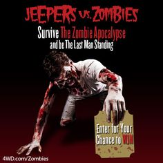 Jeepers vs zombies sweepstakes