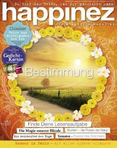 """Happinez 6/2014 """"Bestimmung"""""""