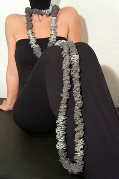 Altea Necklace - Aluminium tabs - EcoFashion - Upcycling is chic not cheap