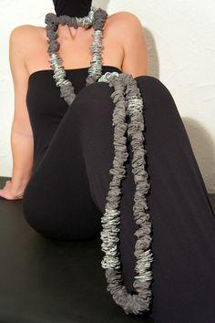 Altea Necklace - Aluminium tabs - EcoFashion - Upcycling is chic not cheap
