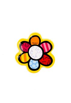 YELLOW FLOWER teabag holder $7.50 Kitchen Stuff, Yellow Flowers, Projects To Try, Dining, Romero Britto, Dibujo, Food, Restaurant