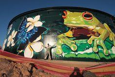 Street Art by Garth Jankovic in Townsville
