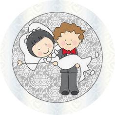 Ideas y material gratis para fiestas y celebraciones Oh My Fiesta!: Etiquetas, imágenes y fondos gratis para bodas.