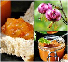 Confiture de prunes à la cannelle et menthe