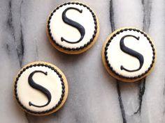 Monograms Sandro, Cookie Ideas, Reveal Parties, Childrens Party, Gender Reveal, Deli, Alphabet, Sweet Treats, Initials