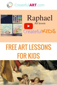 Meet Raphael! FREE video art lesson with fun art project for kids!