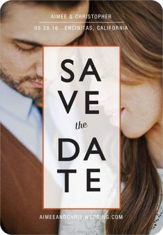 Cute and clean save the date magnet; $447 for 250 (expensive)