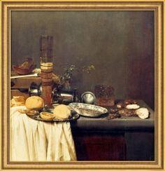 Original: Öl auf Holz, Rijksmuseum, Amsterdam. Für eine brillante Wiedergabe wurde die Originalvorlage im Fine Art… #Stilrichtungen_Rokoko