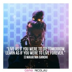 """Live as if you were to die tomorrow. Learn as if you were to live forever.""  ― Mahatma Gandhi ❤ 🎀Check oananicolau.com for a #freebie ❤ #romantic #romance #quotes #romanticquotes #lovequotes #bae #baegoals #goals #couplegoals #couple #tips #ideas #coupletips Quotes For Him, Love Quotes, Couple Therapy, Love Articles, Couple Activities, Old Couples, Romance Quotes, Live Happy, Mahatma Gandhi"