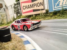 FORD Capri 2600 RS ho Slot Car 9h Kyalami 1971 #24 Lucky Strike D. Glemser/ J. Mass