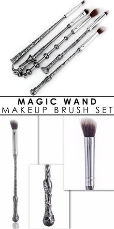 Hurry, before it is gone! Limited time remaining! In-Stock - Ships in 24 hours 99% reviewers recommend this product 100% Money Back Guarantee This Metal Wand Magic Brush Set is perfect for working you