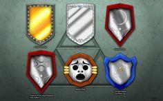 Evolution of Link's Mirror Shield Wallpaper by ~BLUEamnesiac on deviantART