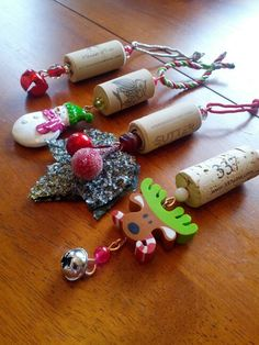 Wine corks corks and christmas tree ornaments on pinterest