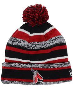 7556278947a New Era Ball State Cardinals Sport Knit Hat Knit Hat For Men