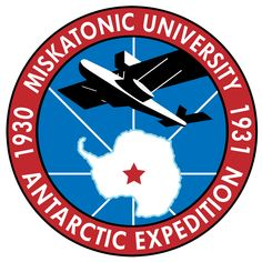 "Logo for the 1930 Miskatonic University expedition to Antarctica that provides the setting for ""At the Mountains of Madness."" By Propnomicon."