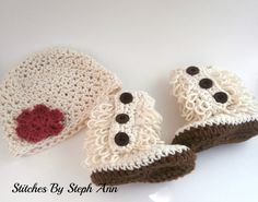 baby clothes baby girl clothes baby hat and by stitchesbystephann, $40.00... Can you make these mom?