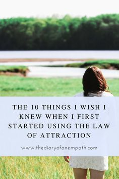my law of attraction success story and tips to help you with yours