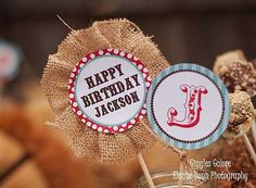 Food for Cowboy Party Ideas | ... at 600 × 441 in Classic Cowboy Birthday Party . ← Previous Next